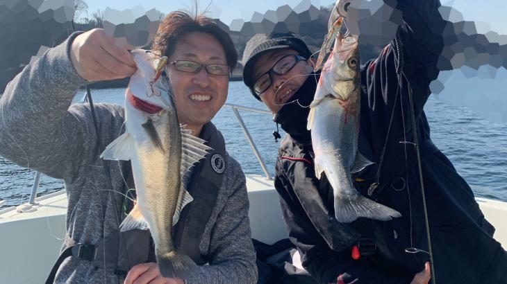 3月20日(水)シーバス.アジ午前便釣果